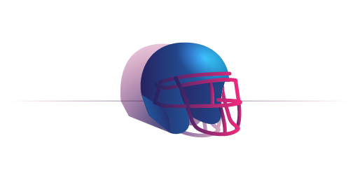 helmet illustration for personalized advertising article.
