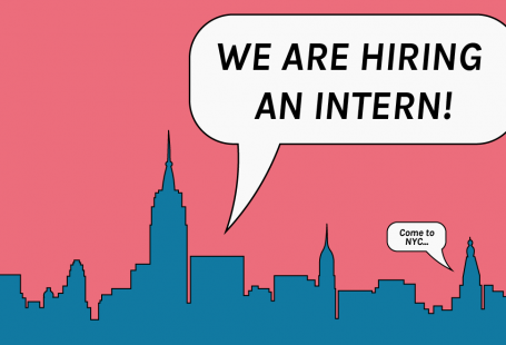 Illustration of New York requesting an intern.